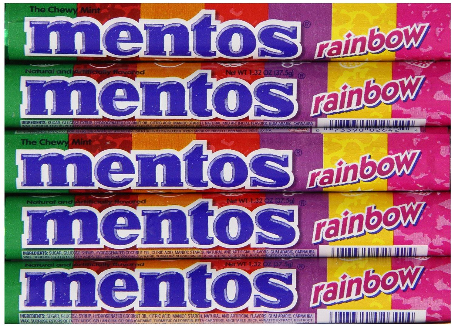 $8.44 Mentos Rolls, 1.32 Ounce (Pack of 15)
