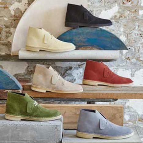 2 For $99 Clarks Women's Desert Boot, Multiple Colors