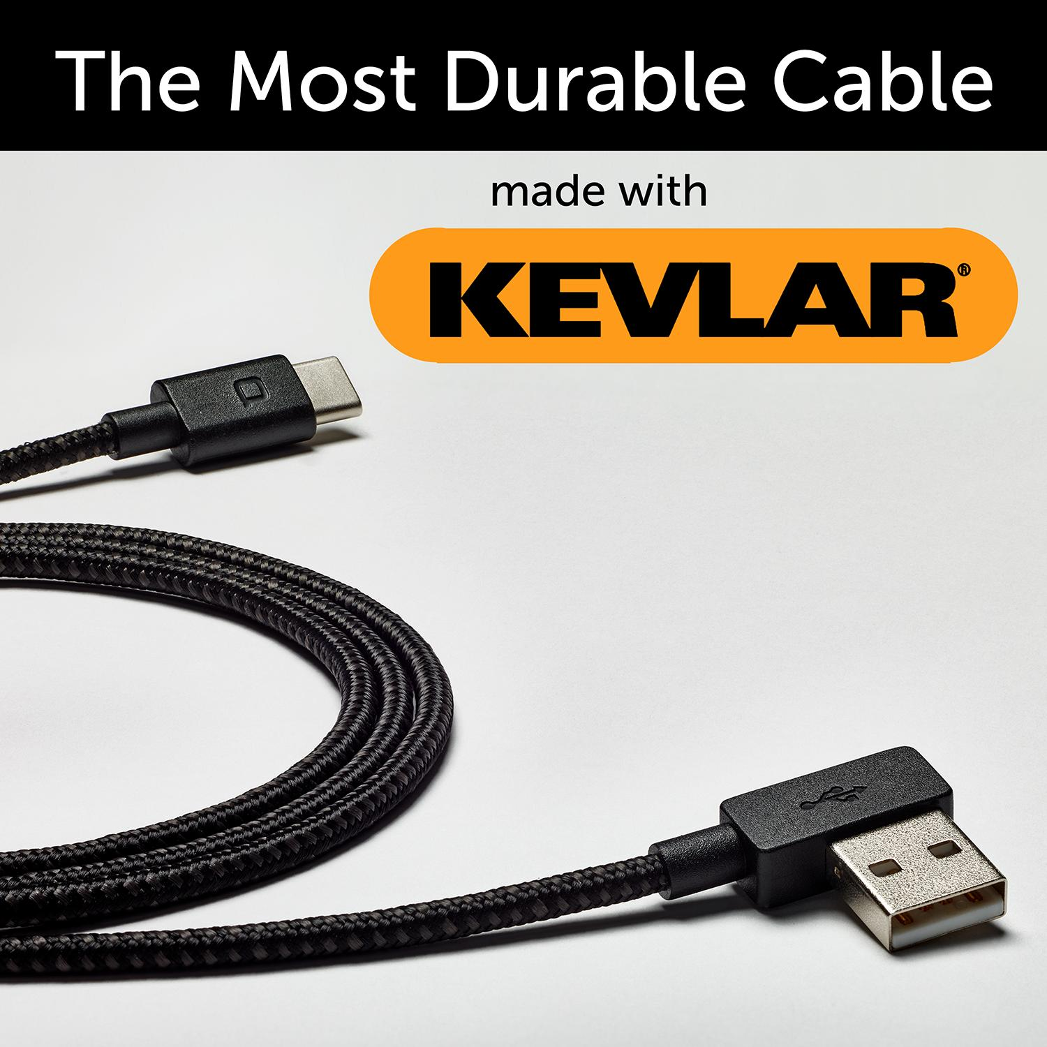 Pre-Order World's Most Durable Kevlar Cable with Lifetime Guarantee
