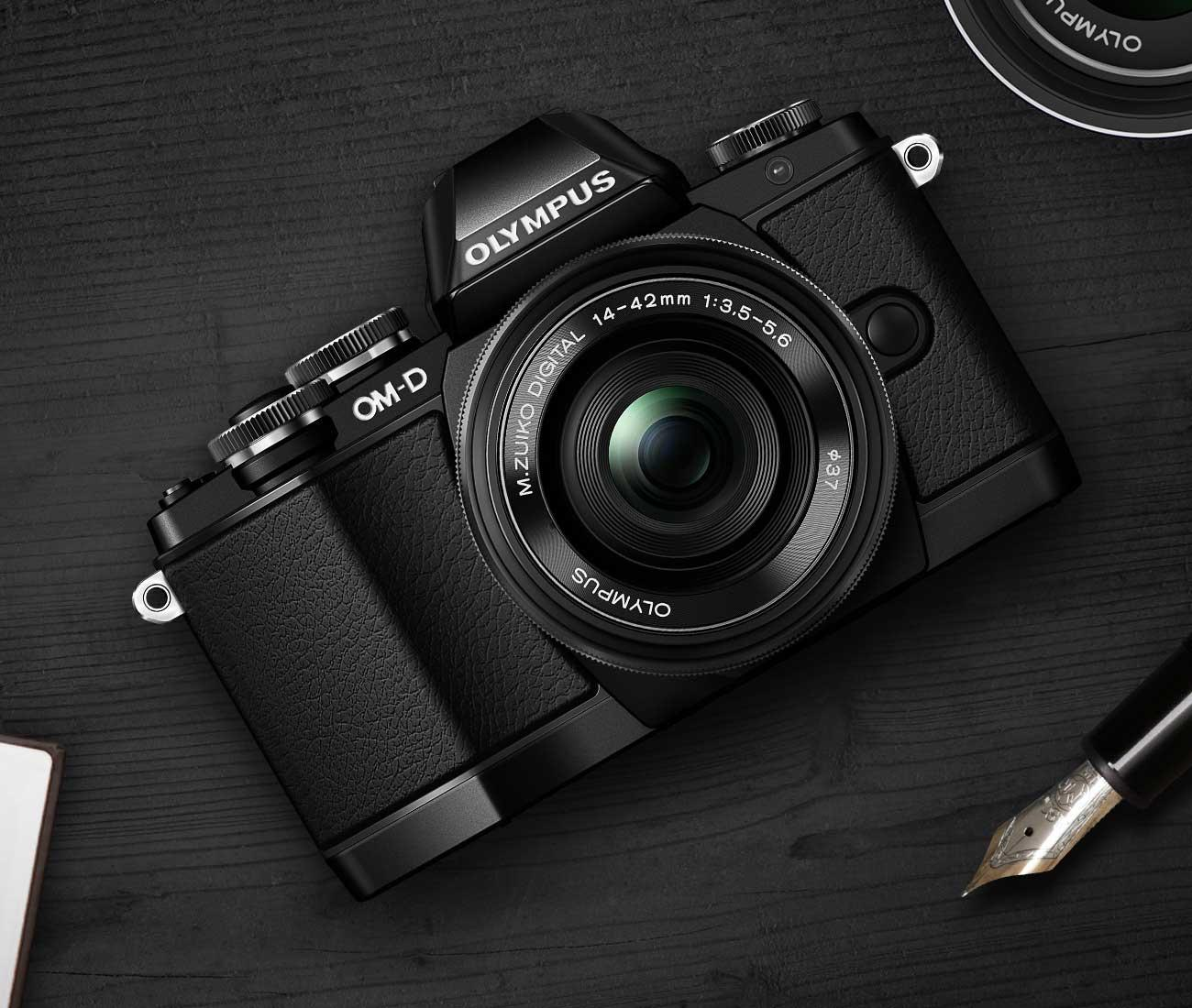 Olympus OM-D E-M10 Mirrorless Camera Black (Body Only)