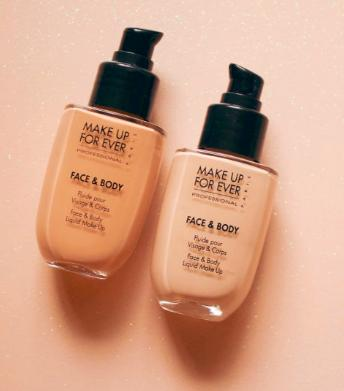 $43 MAKE UP FOR EVER Face & Body Liquid Makeup Foundation