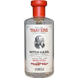 $7.59 Thayers Alcohol-Free Rose Petal Witch Hazel with Aloe Vera, 12 Fluid Ounce