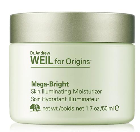$20 Off $45 +Free Drink up overnight mask 75ml when spend $65 DR. ANDREW WEIL FOR ORIGINS™ MEGA-BRIGHT SKIN ILLUMINATING MOISTURIZER @ Origins