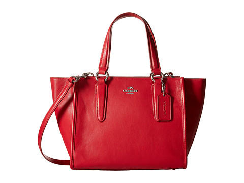 COACH Smooth Leather Mini Crosby Carryall