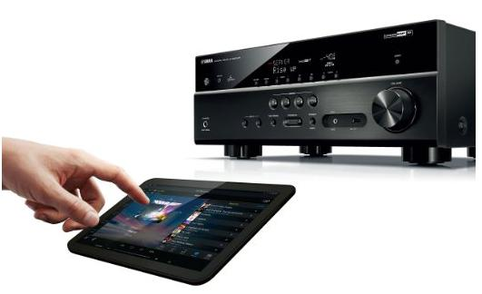 Yamaha TSR-5790BL 7.2-Channel AV Receiver w/4K Ultra HD and Bluetooth (Certified Refurbished)
