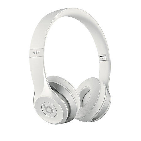 $49.95 Beats Audio On Ear Headphone Solo 2 White