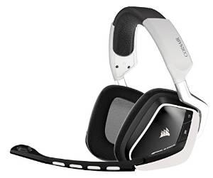 Corsair VOID Wireless RGB Gaming Headset, White/Carbon