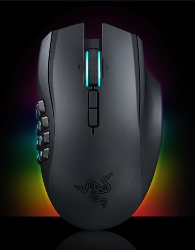 Razer Naga Chroma - Ergonomic MMO Gaming Mouse