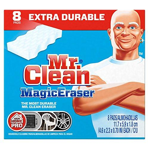 $6.02 Mr. Clean Magic Eraser Extra Power Home Pro, 8 Count Box