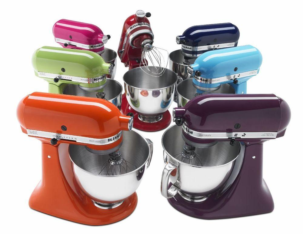$169.99 KitchenAid KSM150PSSM Artisan 5 Qt. Stand Mixer (Manufacturer refurbished)