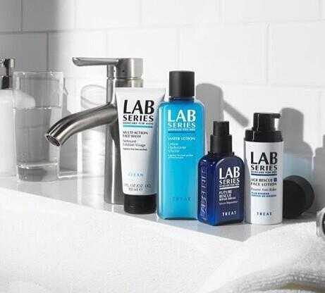 Enjoy a Mystery Full Size with your $50 Purchase @ Lab Series For Men