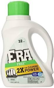 Era 2x Ultra Free Liquid Detergent 32 Loads 50 Fluid Ounce (Pack of 6)
