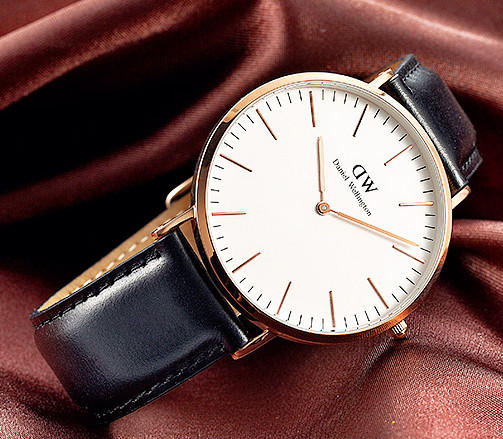 $89.99 DANIEL WELLINGTON Classic Sheffield Eggshell White Dial Men's Watch