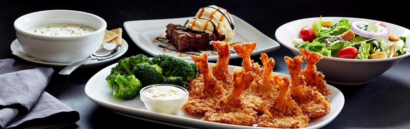 $15.99 4-Course Feast (Choice of Soup, Salad, Entree and Desert)