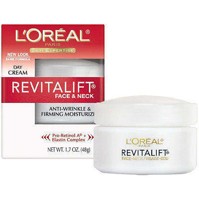 $5.02 L'Oreal Paris RevitaLift Anti Wrinkle + Firming Face/Neck Contour Cream