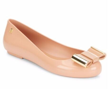 Melissa Space Love II Bow Ballet Flats @ Saks Off 5th