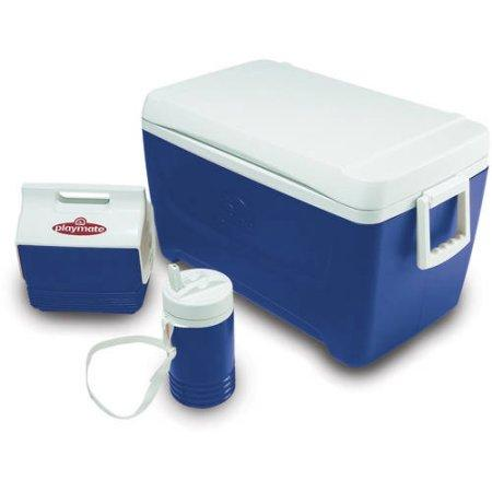 Igloo 48-Quart Cooler 3-Piece Camping Combo