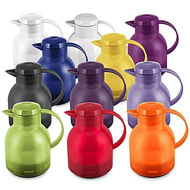 $24.99 Emsa Samba Quick Press Insulated Server 35.2 oz, 2/Pack, Assorted Colors