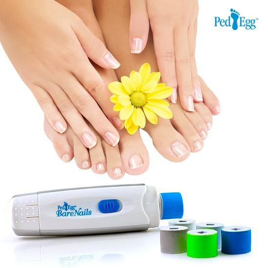 PedEgg Bare Nails Electronic Nail Polishing Kit
