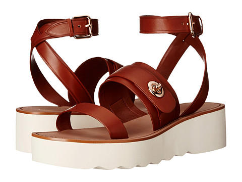 COACH Platt Brown Sandals