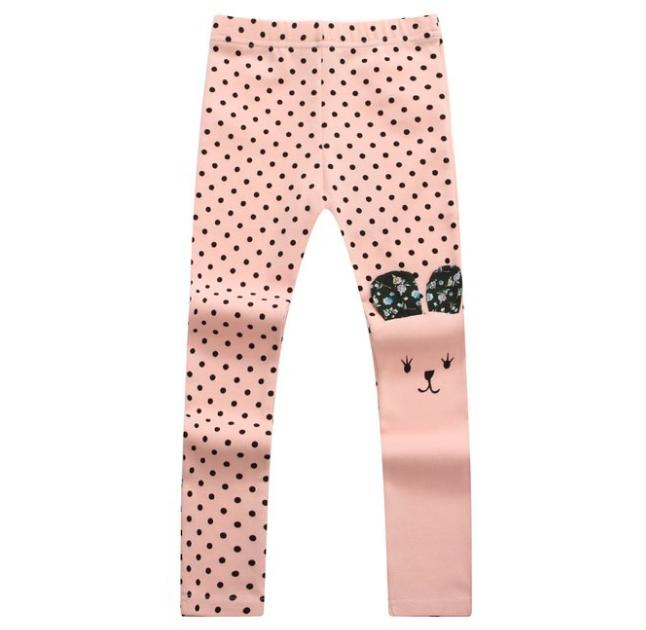 $9.99 Lightning deal! Richie House Girls' Assymetic Happy Bunny Pants