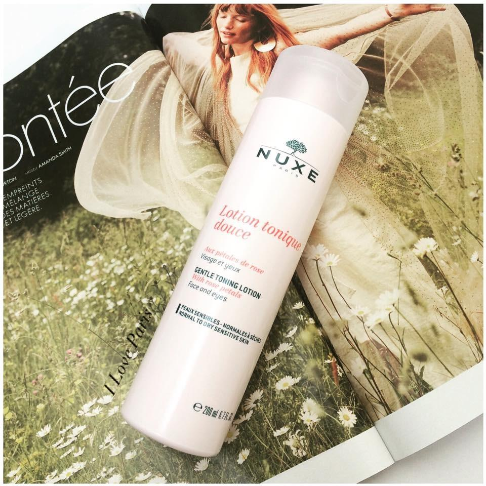 NUXE Micellar Cleansing Water with Rose Petals for Sensitive Skin