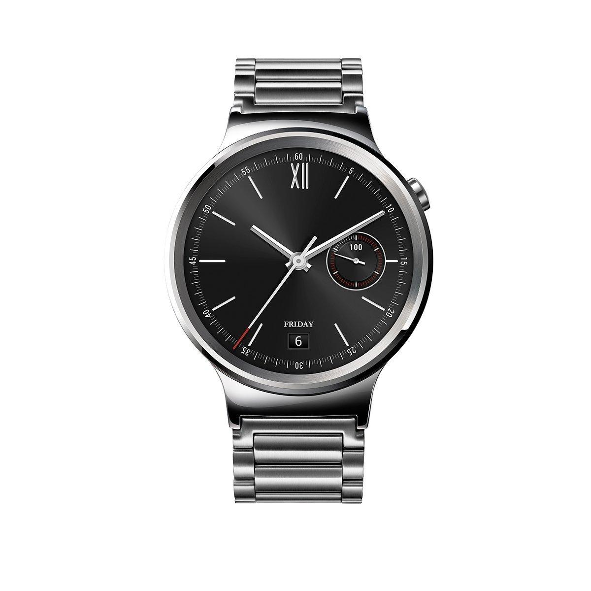 HUAWEI 55020538 SmartWatch Stainless Steel with Stainless Steel Link Band