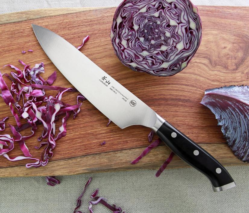 Cangshan X Series 59137 German Steel Forged Chef's Knife, 8-Inch