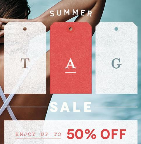 Up to 50% Off Summer Tag Sale @ anthropologie