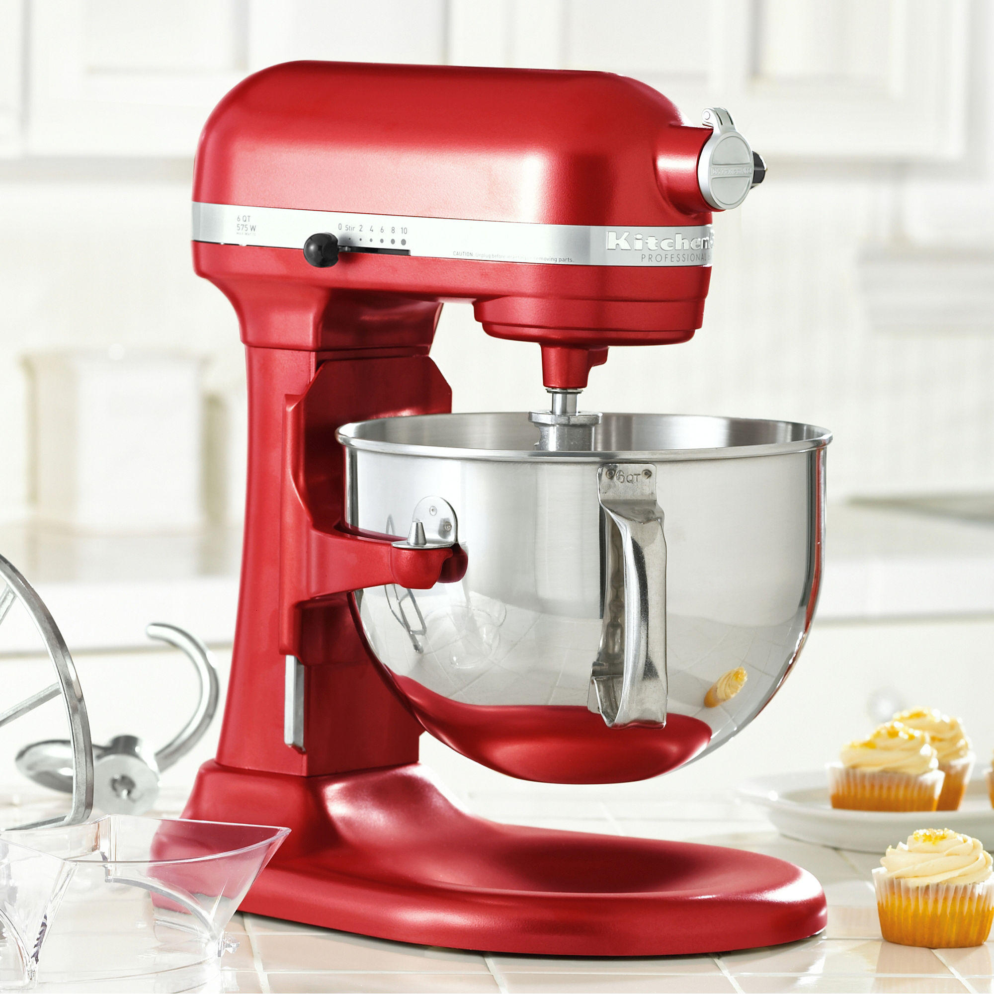KitchenAid KP26M1X Pro 600 Stand Mixer (Refurbished)
