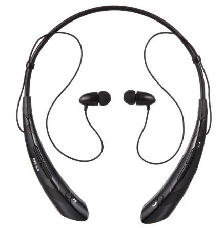 YINENN 760 Stereo Wireless Bluetooth 4.0 Neckband Style Headset for Smartphones & Tablets - Black