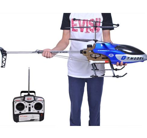 $66.95 53 Inch Extra Large GT QS8006 2 Speed 3.5 Ch RC Helicopter