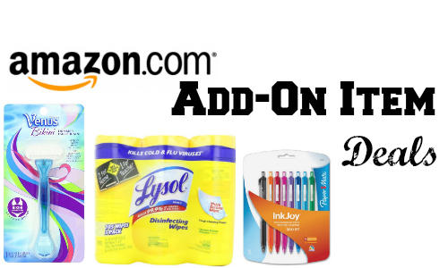 With $25 or More Add On Items @ Amazon