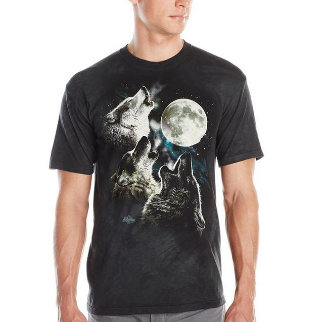 From $11.05 The Mountain Three Wolf Moon Short Sleeve T-Shirt
