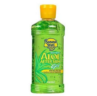 Two for $8.24 Banana Boat Soothing Aloe After Sun Gel