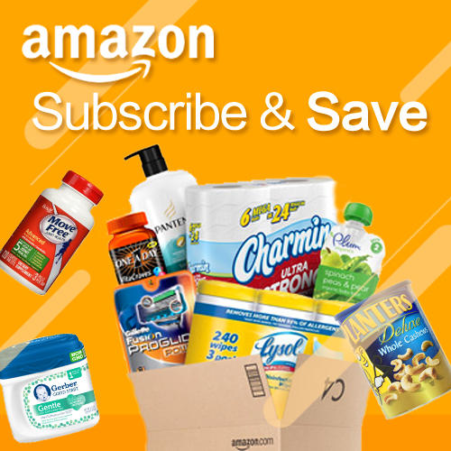 Subscribe and Save 5 items @ Amazon