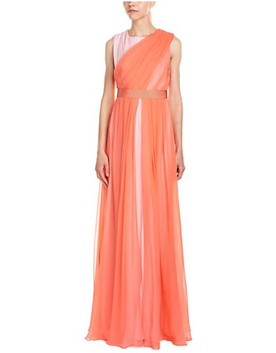 Max Mara Silk Gown On Sale @ Rue La La