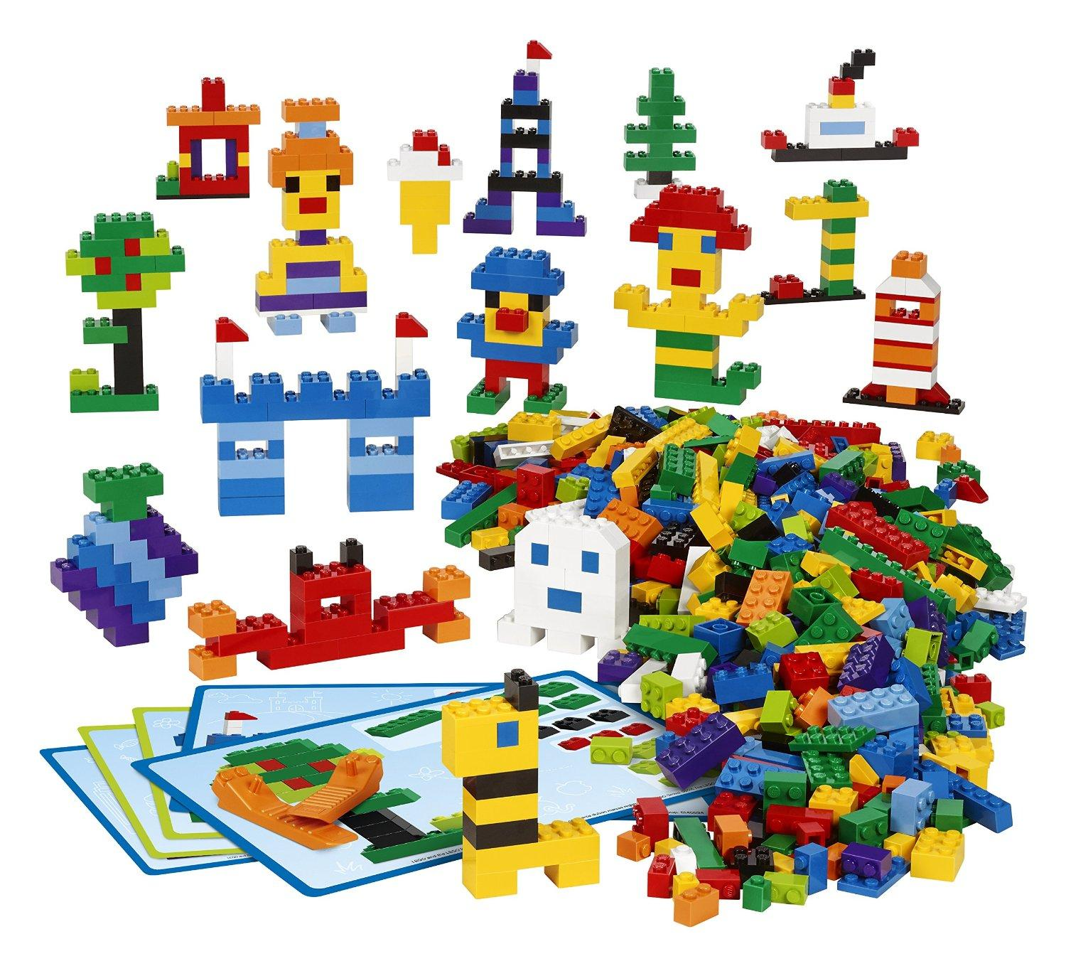 LEGO Education 45020 Creative LEGO Brick Set (Pack of 1000)