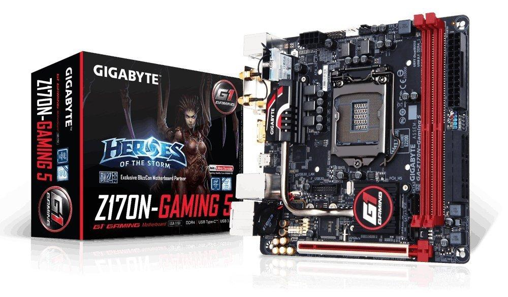 Gigabyte Z170N-Gaming 5 Intel Z170 Mini-ITX Motherboard