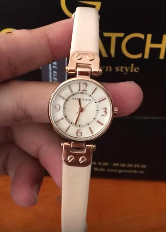 Anne Klein Women's 10/9442RGLP Rose Gold-Tone Watch