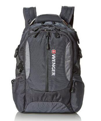 $22.46 Wenger SA1537 Grey Computer Backpack - Fits Most 15 Inch Laptops and Tablets