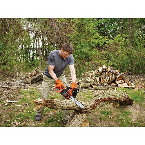 #1 Best seller! $136.99 BLACK+DECKER 40-volt Cordless Chainsaw, 12-Inch