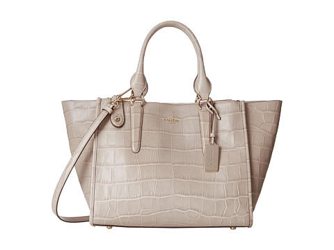 COACH Embossed Croc Crosby Carryall