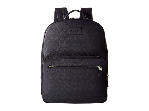 COACH Signature Crossgrain Hudson Backpack