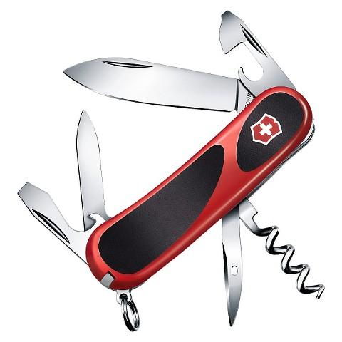 $9.23 Victorinox Evogrip 10 Knife - Red