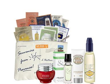 with any $95 Purchase @ L'Occitane