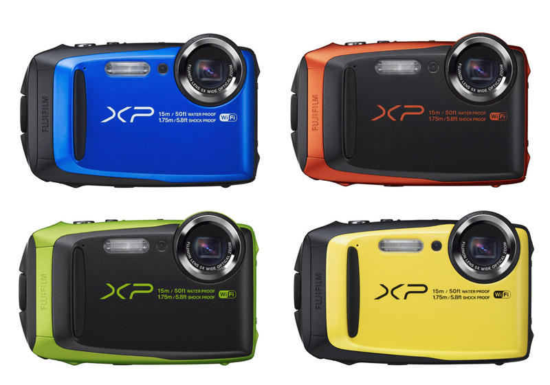 Fujifilm FinePix XP90 Green Waterproof digital camera