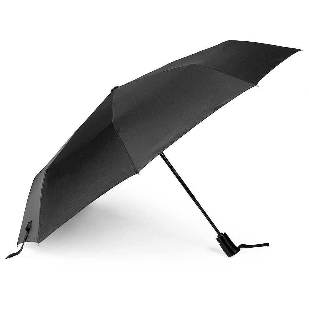 Oak Leaf Automatic Compact Umbrella Foldable Rain Umbrella