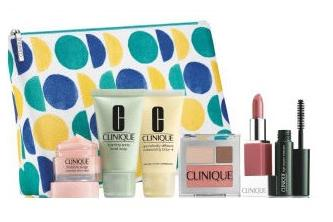 Free 7-piece gift set with any $27 Clinique Purchase @ Stage Stores