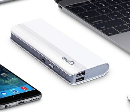 IMNEED 10000mAh Portable External Battery Charger for Smartphones,Tablets